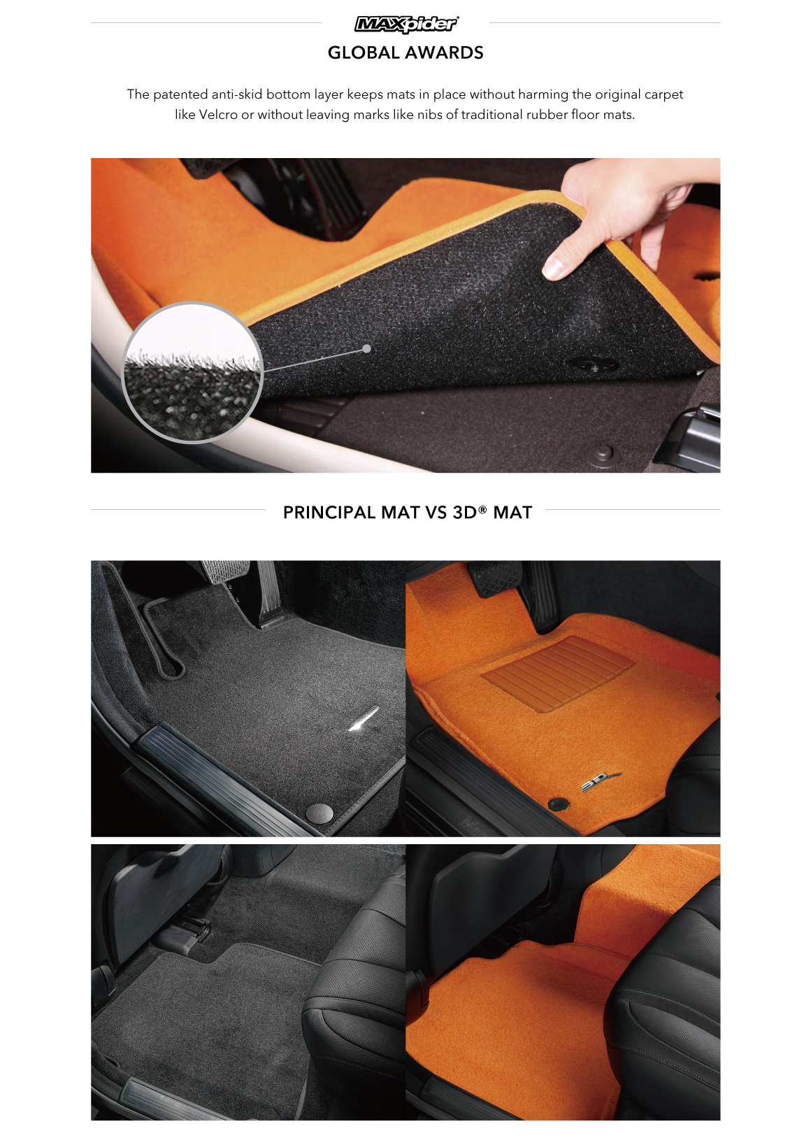 Mercedes E Class W204 Award Winning Car Mats