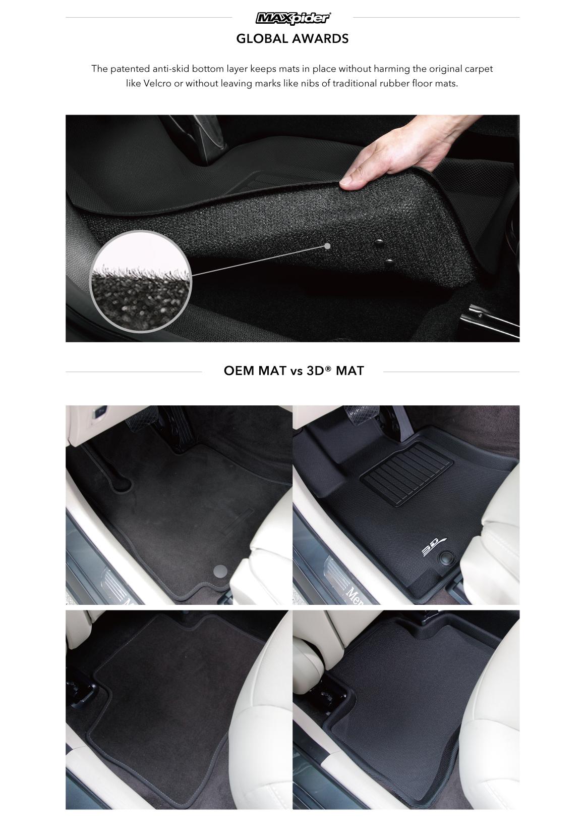 Audi Q3 Kagu Car Floor Mats